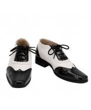 Joker Cosplay Tap Shoes Suicide Squad Men Boots