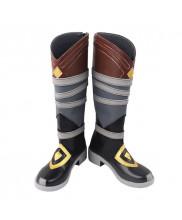 Genshin Impact Razor Shoes Cosplay Men Boots