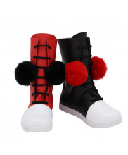 Harley Quinn Shoes Cosplay Suicide Squad The Rebirth Deluxe Edition Women Boots