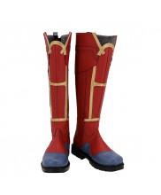Captain Marvel Shoes Cosplay Carol Danvers Women Boots