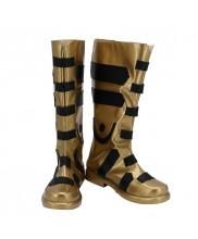 Black Adam Shoes Cosplay DC Comics Men Boots