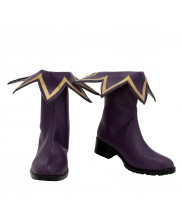 Natsumi Haniel Shoes Cosplay DATE A LIVE 3 Women Boots Purple Version