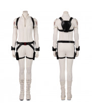 Black Widow Costume Cosplay Suit Natasha Romanoff White Version