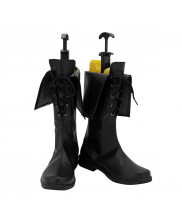 Thancred Waters Shoes Cosplay Final Fantasy XIV FF14 Men Boots