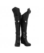 Cyberpunk 2077 Shoes Cosplay Women Boots
