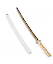Agatsuma Zenitsu Prop Cosplay Replica Sword with Sheath Demon Slayer Kimetsu no Yaiba Ver 1