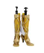 Mercy Shoes Cosplay Winged Victory Skin Overwatch OW Women Boots
