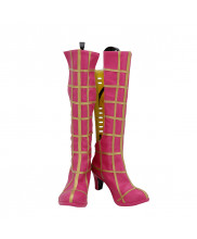Trish Una Shoes Cosplay Spice Girl JoJo's Bizarre Adventure Women Boots
