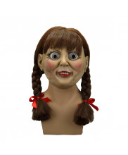 Annabelle Prop Cosplay Replica Halloween Scary Mask