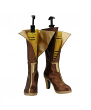 Lux Prestige Edition Shoes Cosplay Luxanna LOL League of Legends Women Boots Ver 1