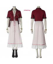 Aerith Gainsbrough Costume Cosplay Suit Final Fantasy VII Remake Women's Dress Ver 1