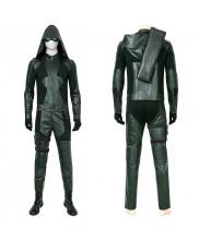 Green Arrow Costume Cosplay Suit Oliver Queen Arrow Season 8 Ver 1