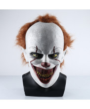 Pennywise Prop Cosplay Replica Mask Helmet The Dancing Clown It