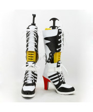 Harley Quinn Shoes Cosplay Suicide Squad Women Boots Ver 1