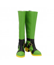 JoJo's Bizarre Adventure Guido Mista Shoes Cosplay Green Boots