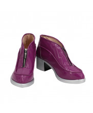 Giorno Giovanna Shoes Cosplay JoJo's Bizarre Adventure Men Boots Purple Ver