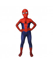 Spider-Man Costume Cosplay Suit Kids Peter Parker Spider-Man Into the Spider-Verse 3D Printed