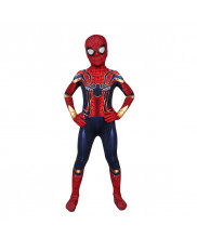 Iron Spiderman Costume Cosplay Suit Kids Peter Parker Avengers Endgame 3D Printed
