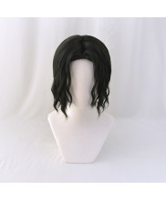 Demon Slayer Kimetsu No Yaiba Muzan Kibutsuji Cosplay Wig Black Hair