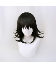 Demon Slayer Kimetsu No Yaiba Makomo Cosplay Wig Black Hair