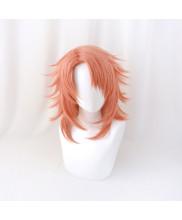 Demon Slayer Kimetsu No Yaiba Sabito Cosplay Wig Orange Red Hair