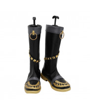 One Piece Portgas D.Ace Halloween Shoes Cosplay Men Boots