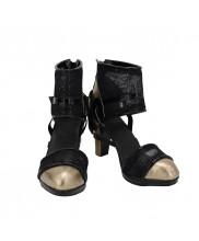 Final Fantasy XV FF15 Lady Lunafreya Shoes Cosplay Luna Women Boots