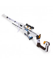OW Overwatch Ana Snow Owl Skin Prop Cosplay Replica Gun