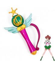 Sailor Moon Crystal Sailor Jupiter Kino Makoto Transformation Magic Wand Cosplay Prop