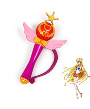 Sailor Moon Crystal Sailor Venus Minako Aino Transformation Magic Wand Cosplay Prop