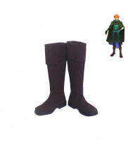 Fate Extra FGO Visual Fanbook Robin Hood Cosplay Shoes Men Boots