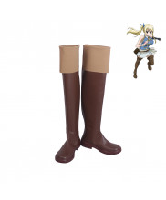 Fairy Tail Lucy Heartfilia Spirit Cosplay Shoes Women Boots Version 1