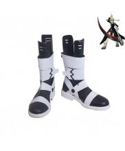 Soul Eater Maka Albarn Black Cosplay Shoes Women Boots Version 1