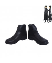SAO Sword Art Online 2 ALfheim Online Kirigaya Kazuto Kirito Cosplay Shoes Men Boots