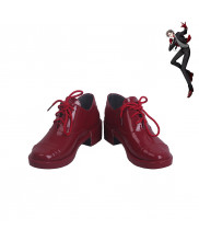 Division Rap Battle Hypnosis Mic Jyuto Iruma 45 Rabbit Cosplay Shoes Men Boots