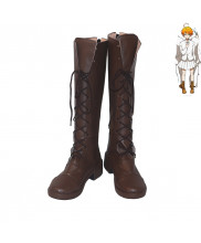 The Promised Neverland Emma Grace Field House Cosplay Shoes Men Boots