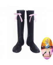 Macross Delta Walkure Attack Freyja Wion Cosplay Shoes Women's Long Boots