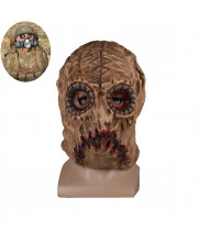 SCUM Scarecrow Mask Helmet Halloween Scary Cosplay Prop