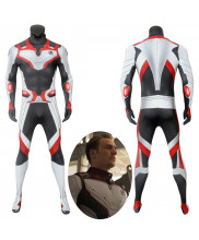Avengers Endgame Quantum Realm Jumpsuit Cosplay Costume Male Version 3D Printed