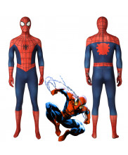 Ultimate Spider-Man Peter Parker Jumpsuit Cosplay Costume 3D Printed