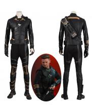 Avengers Endgame Clinton Barton Hawkeye Cosplay Costume Version 1