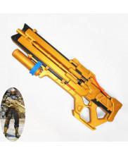 Overwatch OW Soldier 76 Gun Weapon Cosplay Prop Golden Version