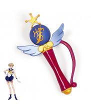 Sailor Moon Haruka Tenoh Uranus Transformation Magic Wand Cosplay Prop