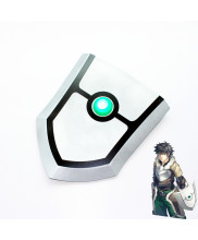 The Rising Of The Shield Hero Naofumi Iwatani Shield Cosplay Props with LED Light