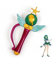 Sailor Moon Neptune Michiru Kaiou Transformation Magic Wand Cosplay Prop