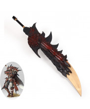 Monster Hunter Rathalos Fire Sword Cosplay Prop
