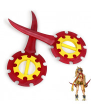 FINAL FANTASY Rikku Flywheel Daggers Replica Cosplay Prop 2 PCS