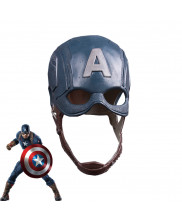New Captain America Mask Helmet Cosplay Prop