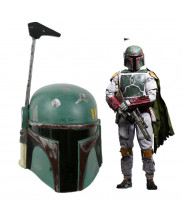 Star Wars Bounty Hunter Boba Fett Helmet Cosplay Prop