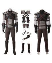 The Witcher 3 Wild Hunt Geralt of Rivia Cosplay Costume